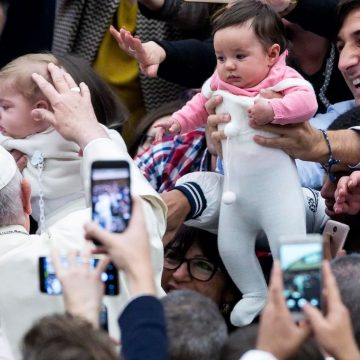 El papa Francisco en la audiencia general del 19 de diciembre de 2018