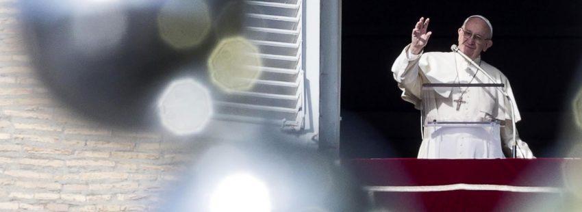 El papa Francisco en el ángelus del 23 de diciembre de 2018