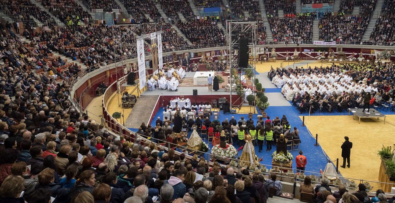 Misión Diocesana Euntes en la plaza de Toros de Logroño, el 17 de noviembre de 2018