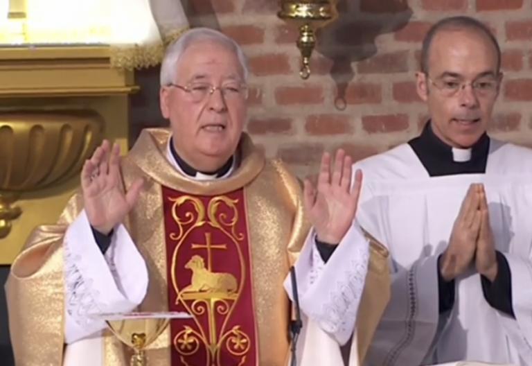 Juan Antonio Reig Pla, durante la eucaristía de La 2 del 30 de diciembre de 2018