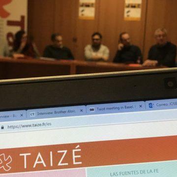 Rueda de prensa del Encuentro Europeo de Taizé