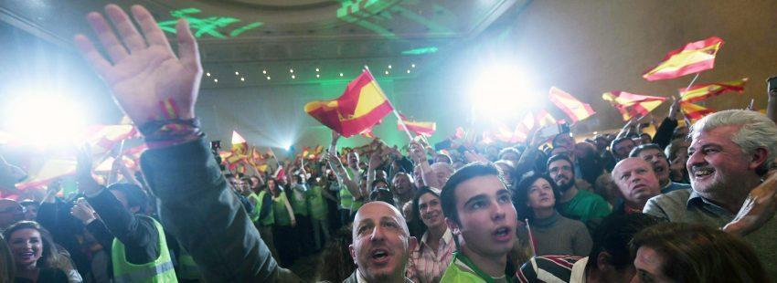 Vox consigue 12 diputados en Andalucía