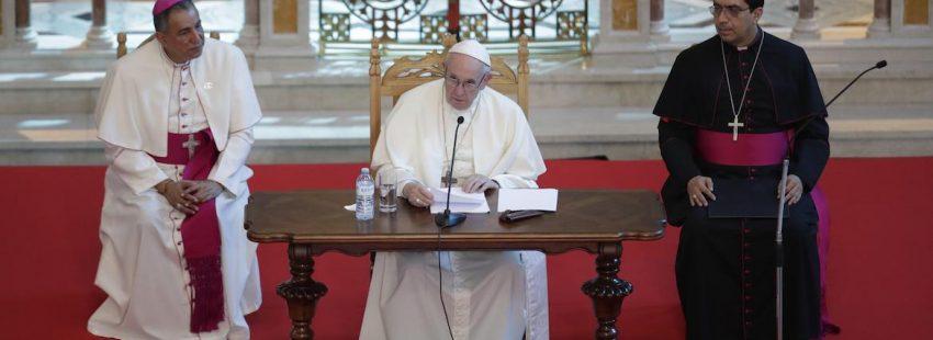 francisco discurso obispos