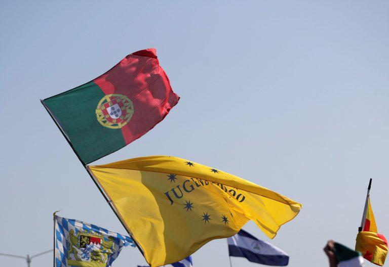 Bandera de Portugal en la JMJ de Panamá
