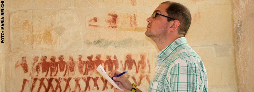 Nacho Ares, historiador y egiptólogo