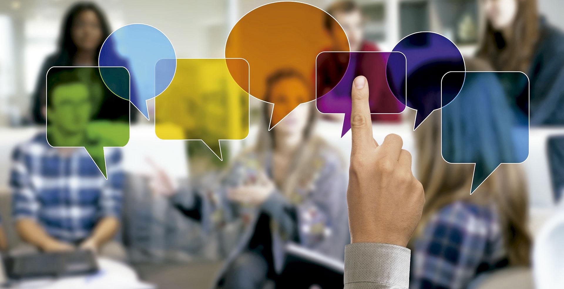 comunicar comunicación