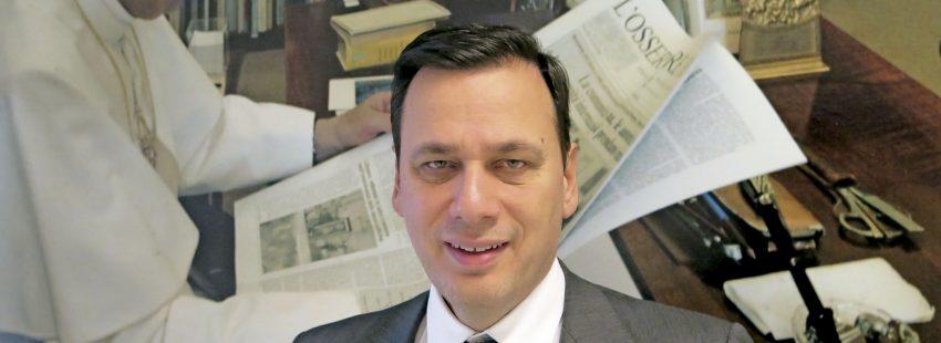 Andrea Monda, director de L'Osservatore Romano