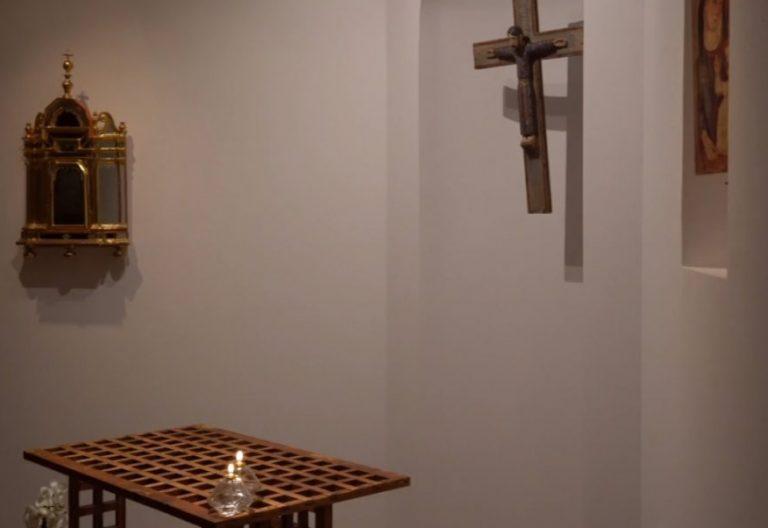 Detalle de la nueva capilla del Obispado de Teruel y Albarracín