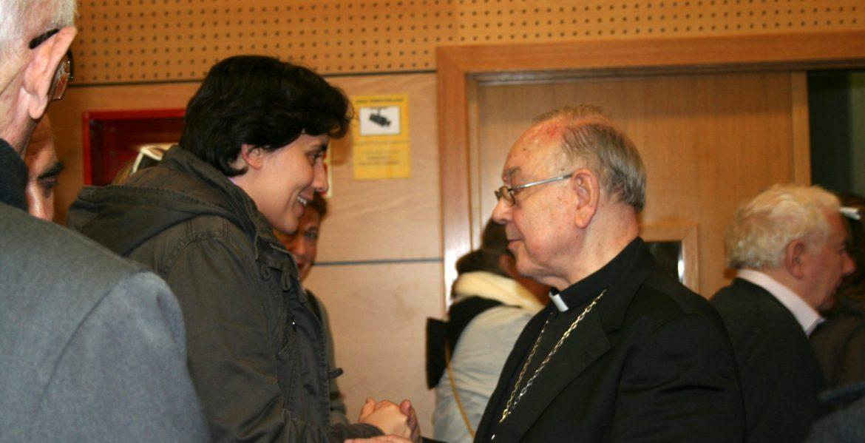 El cardenal arzobispo Fernando Sebastián