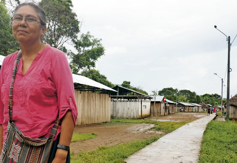 Amazonía peruana Hermana Lucero Guillén