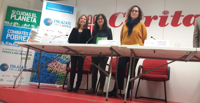 Presentación informe REPAM y Enlázate por la Justicia sobre la vulneración de derchos humanos en la Amazonía, presnetado en Madrid el 24 de enero de 2019