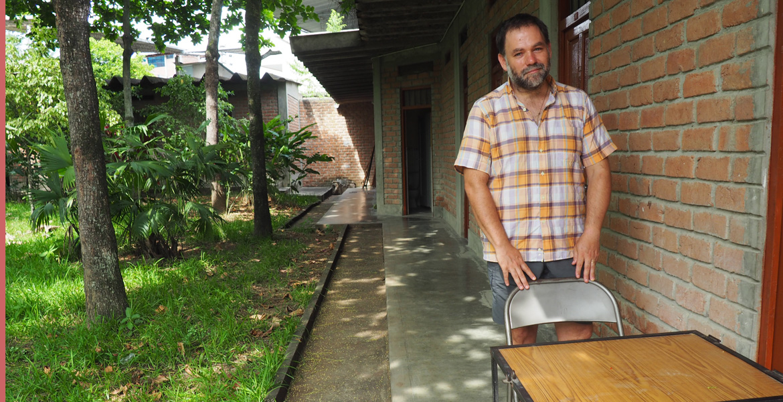 Jaime Palacio, misionero laico corazonista en el Vicariato apostólico de Yurimaguas (Perú)