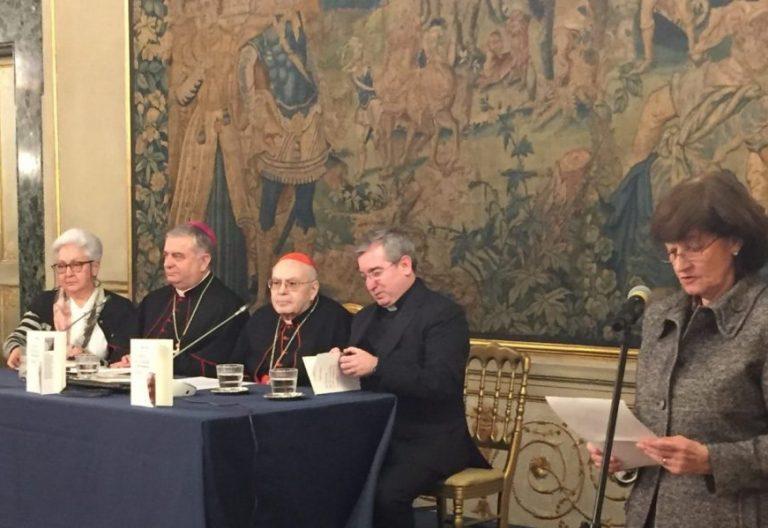 """Presentación de libro """"La fuerza de la vocación"""" en Roma"""