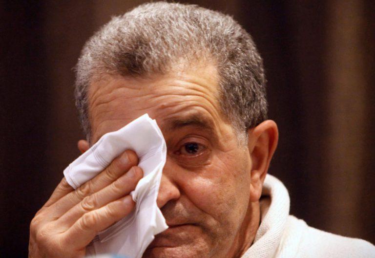 LA CORUÑA, 02/01/2019.- El líder de la Orden y Mandato de San Miguel Arcángel -conocida como los 'Miguelianos'- ,Miguel Rosendo, condenado a 9 años de prisión por abusos sexuales, durante la rueda de prensa que ha ofrecido hoy en La Coruña. EFE/Cabalar