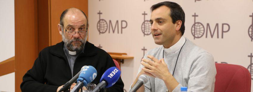 José María Calderón, OMP, y el misionero español en Marruecos Mario León
