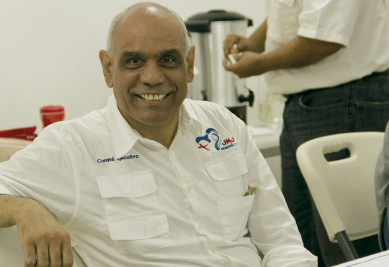 Rómulo Aguilar, coordinador general de la JMJ