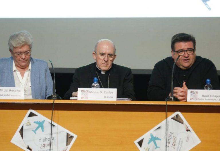 Mariña Ríos, Carlos Osoro y Carlos Escribano