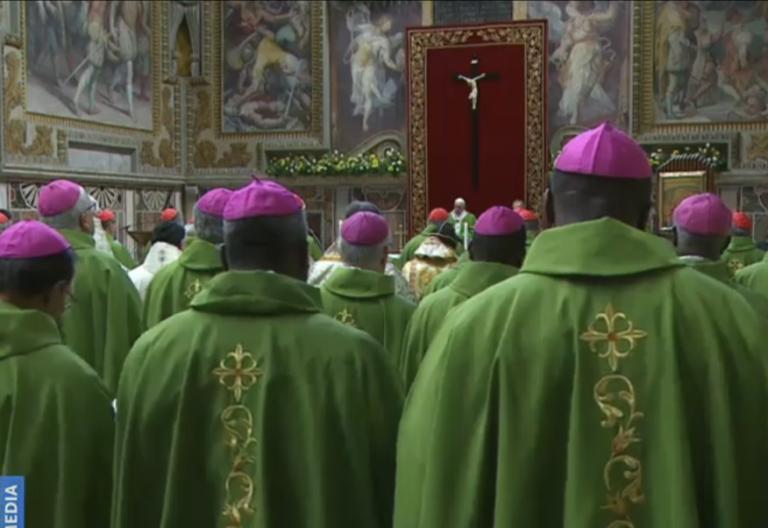 Eucaristía conclusiva de la cumbre antiabusos vaticana