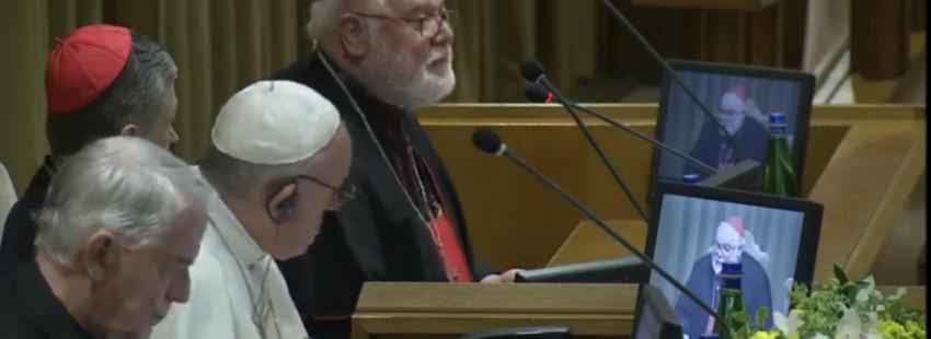 El cardenal Marx en la cumbre antiabusos