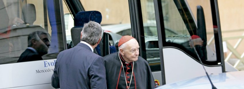 El cardenal Theodore McCarrick