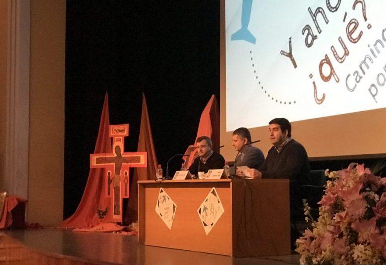 El salesiano Rossano Silva en las jornadas vocacionales de Confer