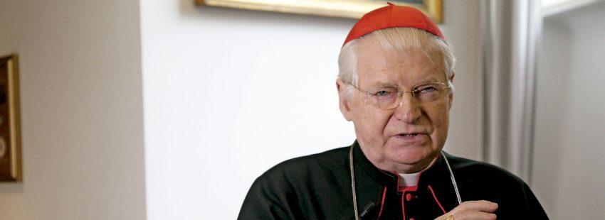 El cardenal arzobispo emérito de Milán, Angelo Scola