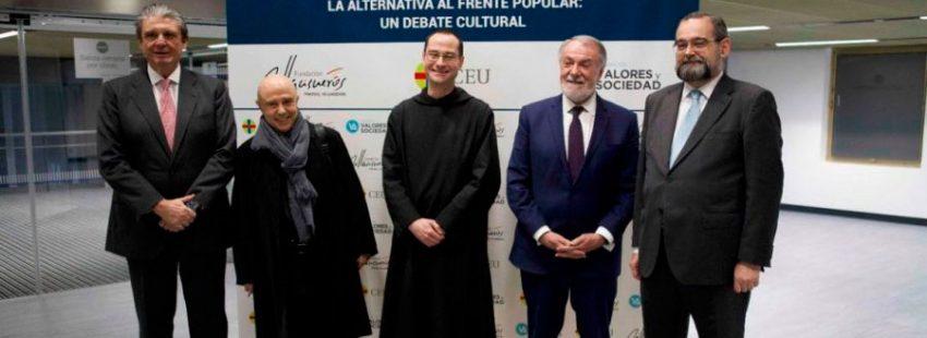 Gabriel Albiac Santiago Cantera debate cristianismo y relativismo madrid 18 de febrero de 2019