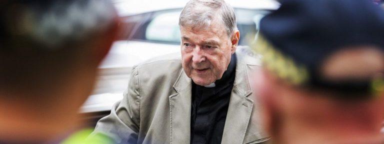 El cardenal australiano George Pell en la Corte de Melbourne/EFE