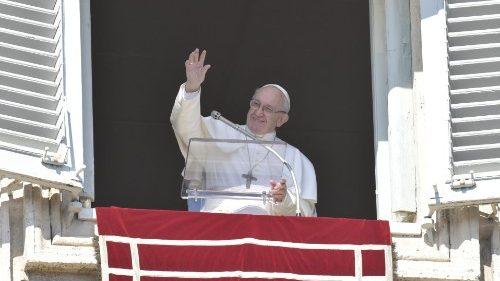 Rezo del ángelus papal