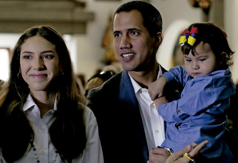 Fabiana Rosales, esposa del presidente de Venezuela, Juan Guaidó