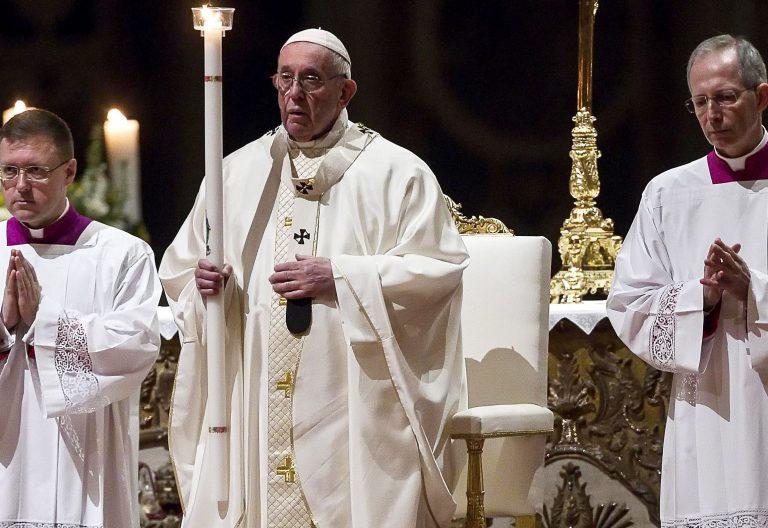 El papa Francisco en la Jornada Mundial de la Vida Consagrada