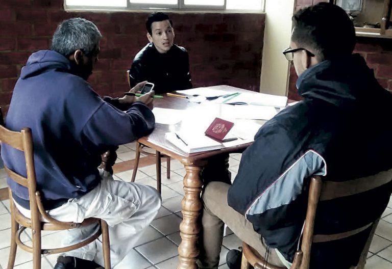 Inmigrantes venezolanos en Perú