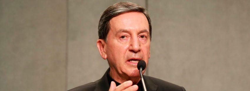 El cardenal Rubén Salazar, arzobispo de Bogotá