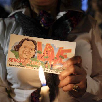 Sergio Rojas, líder indígena asesinado en Costa Rica
