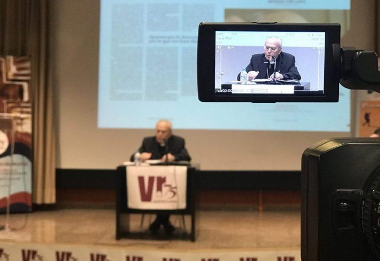 El cardenal Aquilino Bocos, en el 75 aniversario de la revista Vida Religiosa