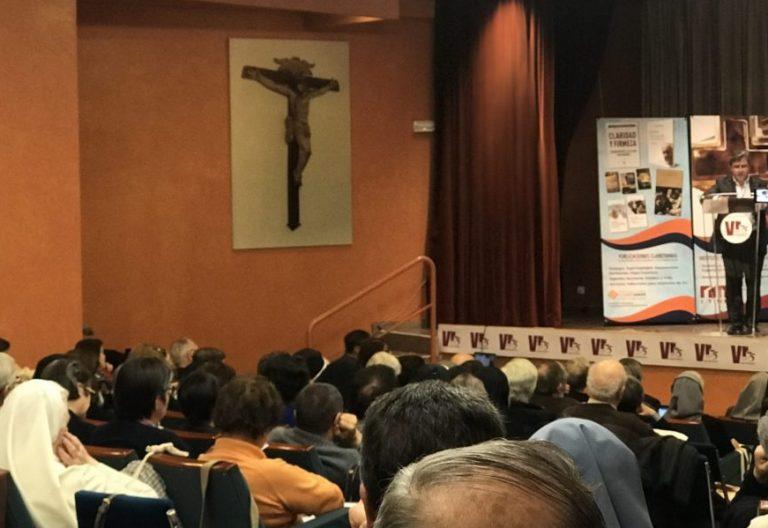 El director de la revista Vida Religiosa, Luis Alberto Gonzalo