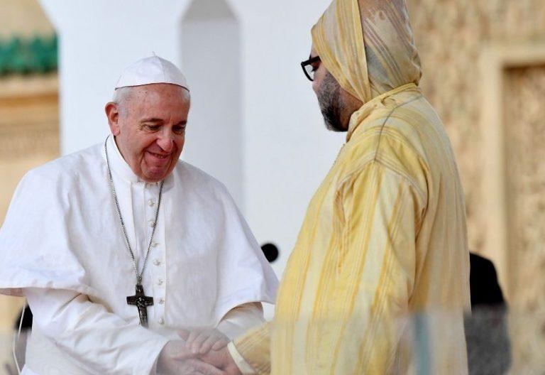 Francisco y Mohamed VI en Marruecos