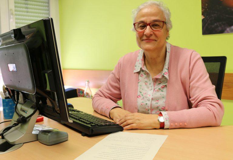 Soledad Mena, jesuitina y gerente de la Fundación Ayuda Solidaria Hijas de Jesús (FASFI)
