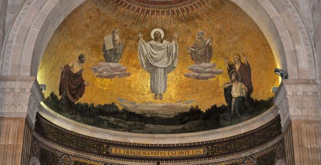 Mosaico de la Transfiguración en Israel