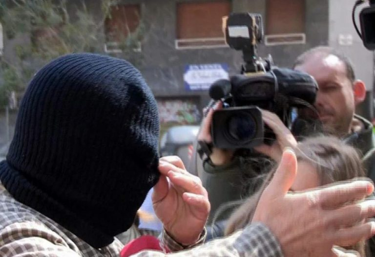 El pederasta confeso de los Maristas de Sants, Joaquín Benítez, durante el juicio/EFE