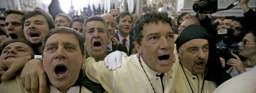 Antonio Banderas en Semana Santa