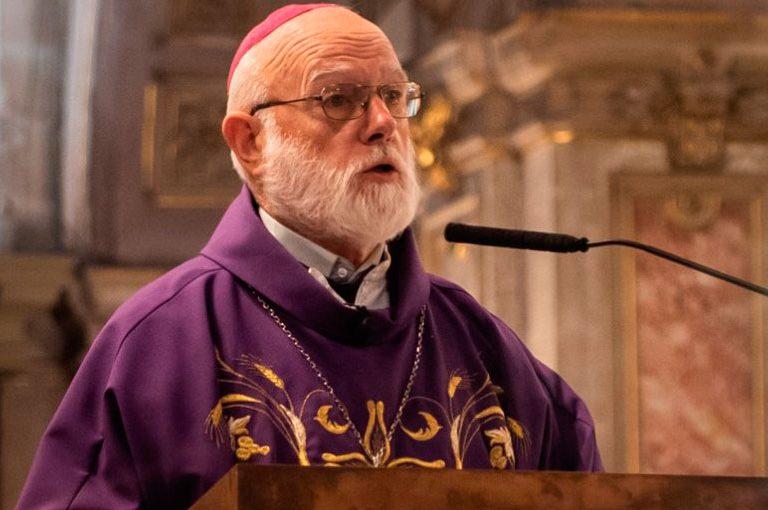 Celestino Aós, administrador apostólico de Santiago de Chile