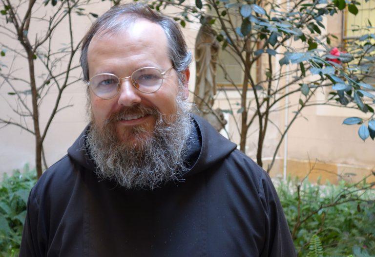 Eduard Rey, capuchino y presidente de la Unión de Religiosos de Cataluña