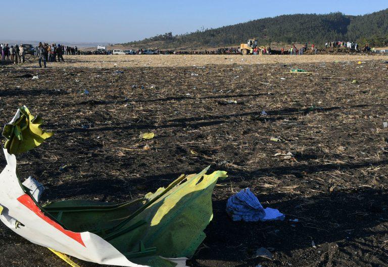 Etiopía accidente avión