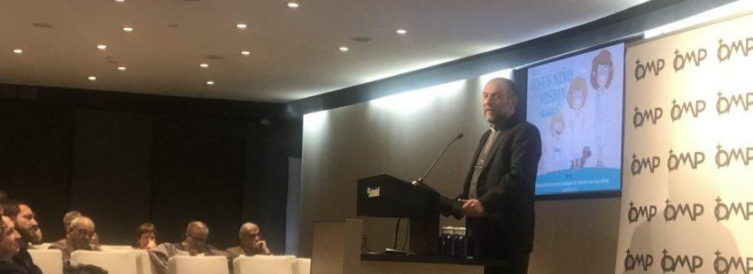 El director de OMP, José María Calderón
