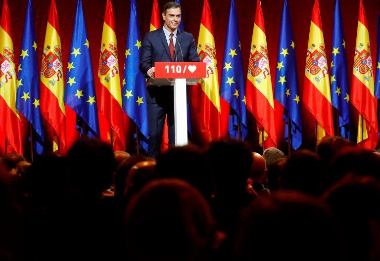 Pedro Sánchez presenta los 110 compromisos del PSOE para las elecciones del 28 de abril