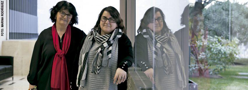 Pepa Torres y Silvia Martínez Cano, profesoras del Insituto Superior de Pastoral de la UPSA