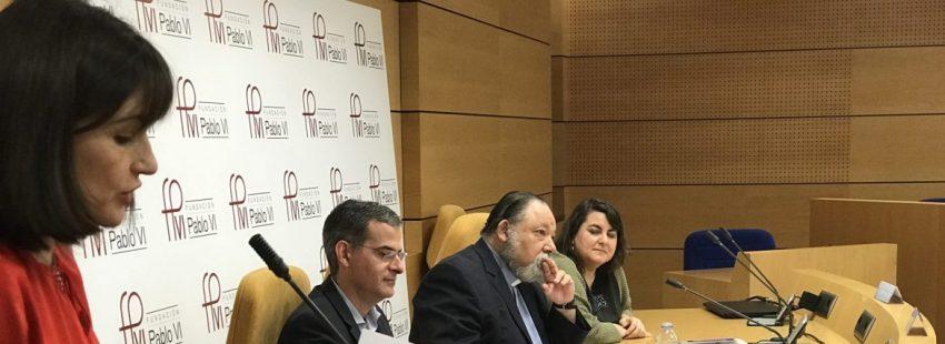 Rafael Luciani, Carlos Galli y Silvia Martínez