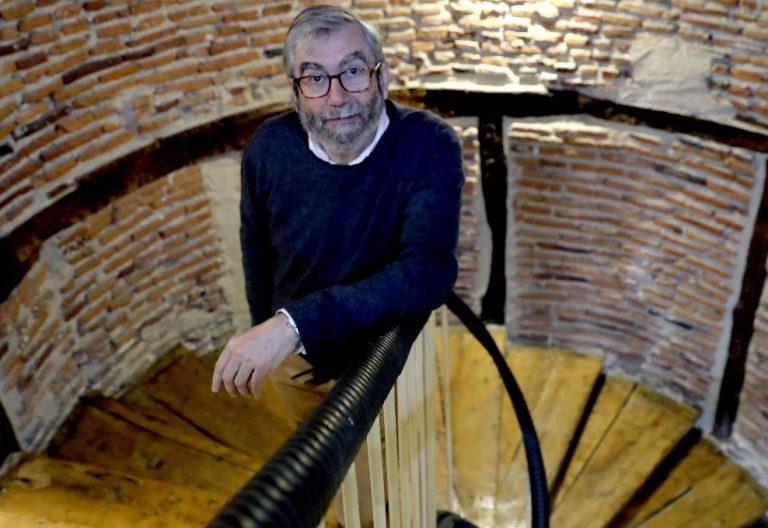 El novelista Antonio Muñoz Molina