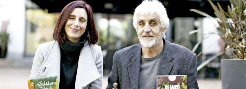 Andrés Guerrero y Beatriz Osés, ganadores de los premios Gran Angular y El Barco de Vapor de SM